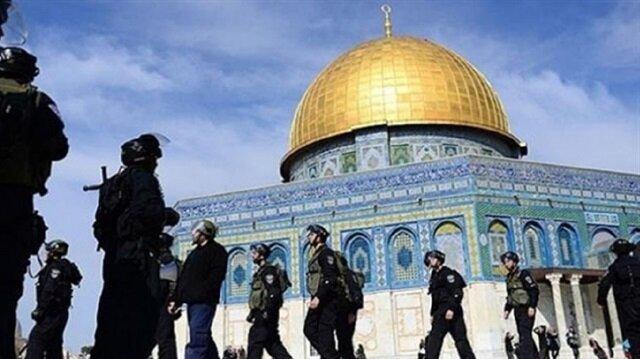 Mescid-i Aksa'ya zorla giren Yahudilerin sayısı yüzde 15 arttı