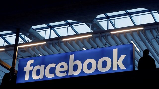 Facebook logo is pictured.