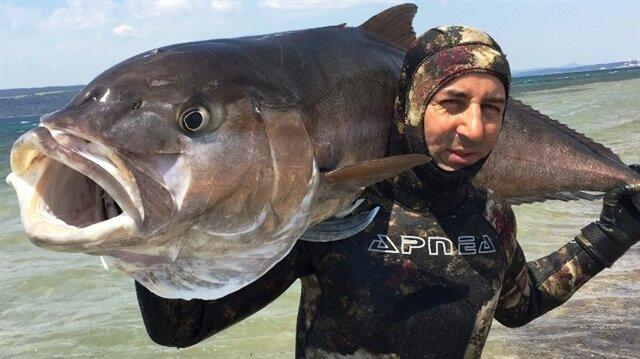 'Bu balık Türkiye rekoru'