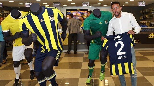 Fenerbahçe'nin yeni transferi Isla, kulüp gazetesine açıklamalarda bulundu.