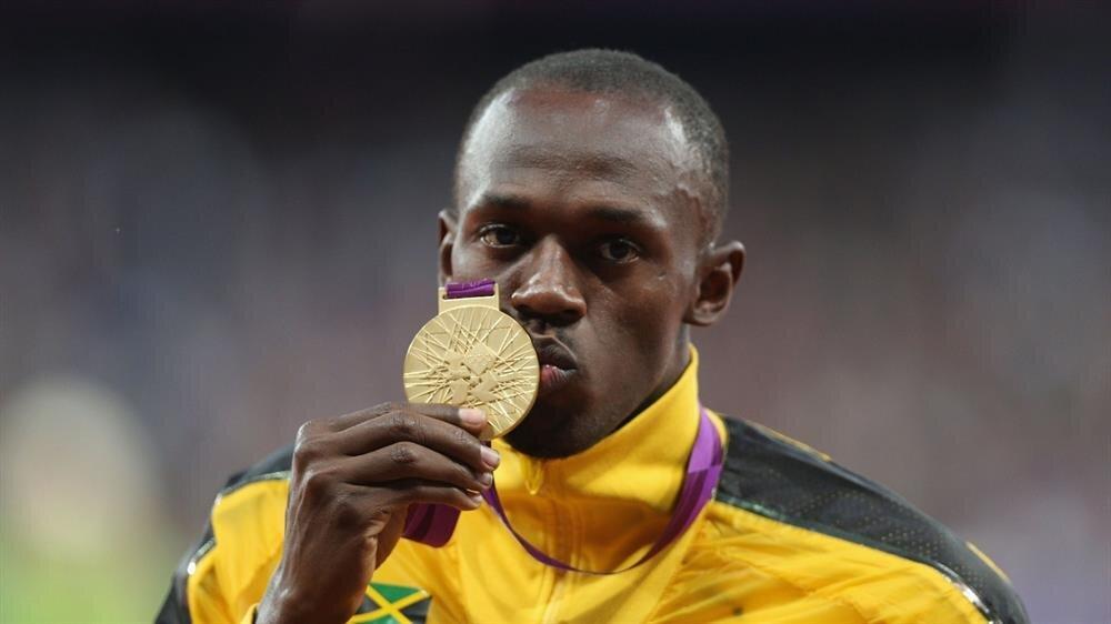 Usain Bolt, katıldığı üç olimpiyatta 8 altın madalya kazanma başarısı gösterdi.