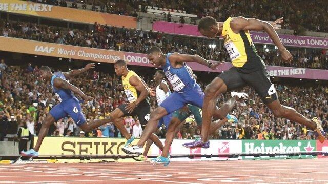 Dünya ve Olimpiyat şampiyonu Usain Bolt