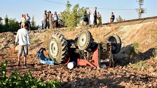 Gaziantep'te trafik kazası: 2 ölü, 1 yaralı