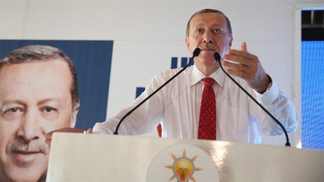 Cumhurbaşkanı Erdoğan Giresun'da yoklama yaptı