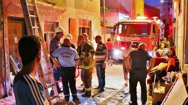 Aynı binada 10 günde 11 kez yangın çıktı