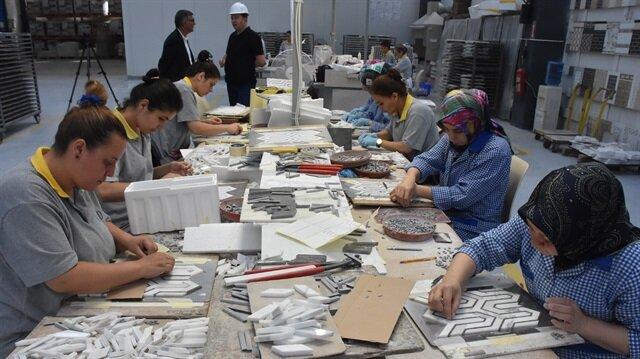 شركة تركية تصدر الغرانيت والفسيفساء لـ40 بلدًا حول العالم