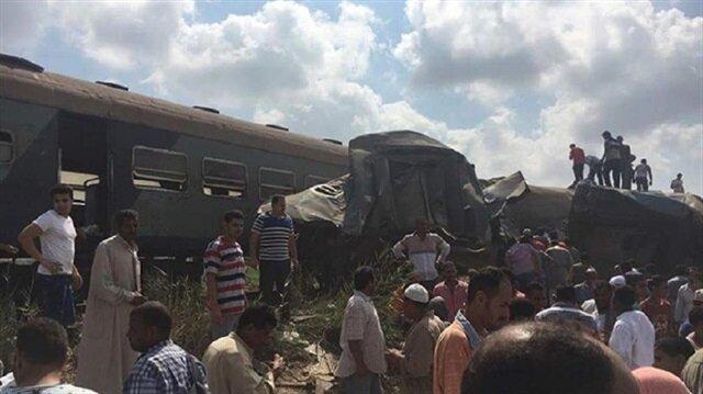 20 قتيلا وعشرات المصابين في حادث تصادم القطارين بالإسكندرية شمالي مصر