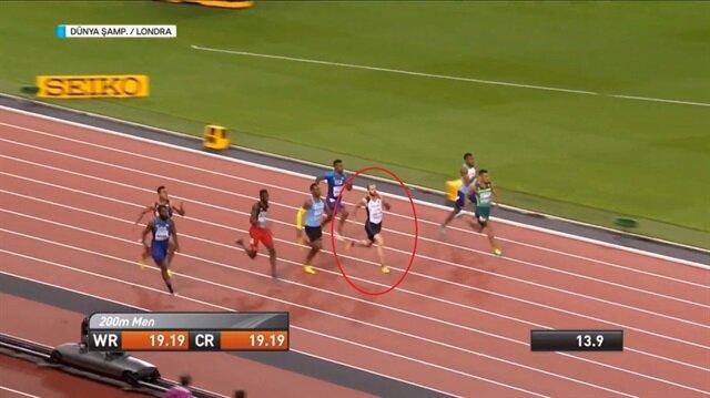 İşte Ramil Guliyev'in tarihe geçen koşusu