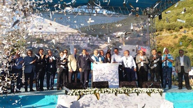 Yalova'da balıkçı barınağı temel atma töreni düzenlendi