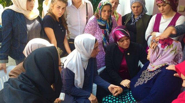 Cumhurbaşkanı Erdoğan'dan şehit Eren'in annesine taziye