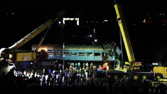 Mısır'daki tren kazasında 50 kişi hayatını kaybetmişti