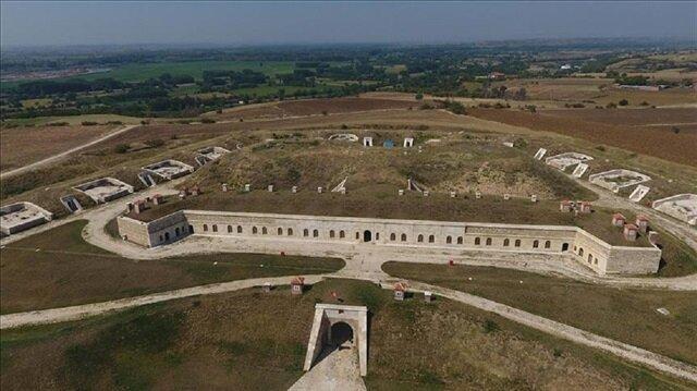 Kültür ve Turizm Bakanlığı kayıtlarına göre, Edirne'deki tabyaların inşasına 1829 yılında başlanıldı.