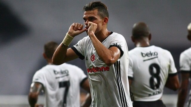 Portekizli yıldız Pepe, Beşiktaş formasıyla çıktığı ilk lig maçında gol atmayı başardı.