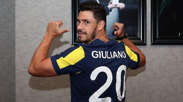 Fenerbahçe, Brezilyalı futbolcu Gioliano'yu 7 milyon Euro'ya kadrosuna kattı.