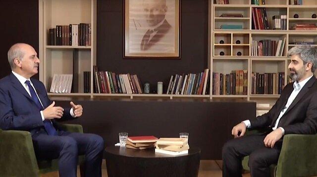 Kültür ve Turizm Bakanı Numan Kurtulmuş Tvnet 'Kitap Kokusu' programında kitapla olan bağını, ve kültür dünyasına ait görüşlerini paylaştı.