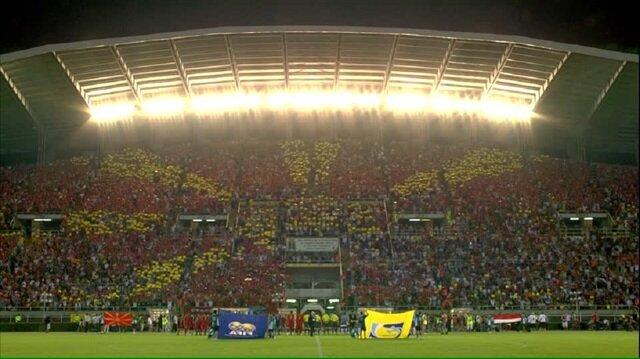 Makedon temsilcisi Vardar iç saha maçlarını 33.460 kişilik Philip II Arena'da oynuyor.