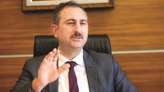 Adalet Bakanı Abdülhamit Gül,