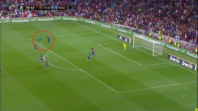 Ronaldo'dan Barcelona'ya muhteşem gol