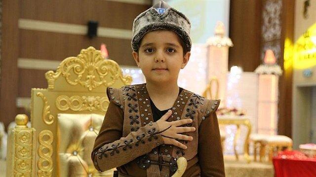 Çocukların yeni hayali: Kayı armalı sünnet elbiseleri