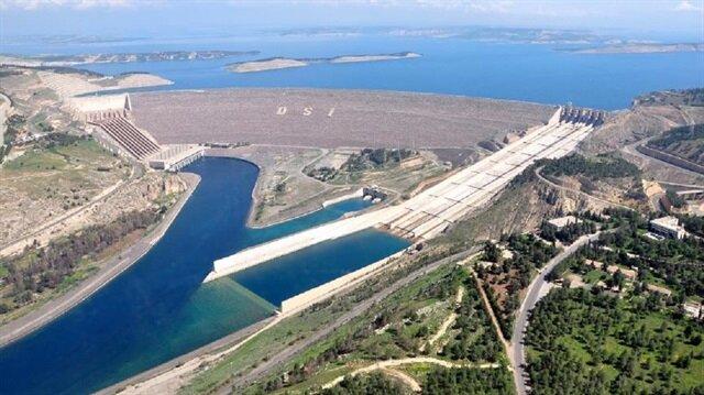 Türkiye'nin enerji lokomotifi Atatürk Barajı