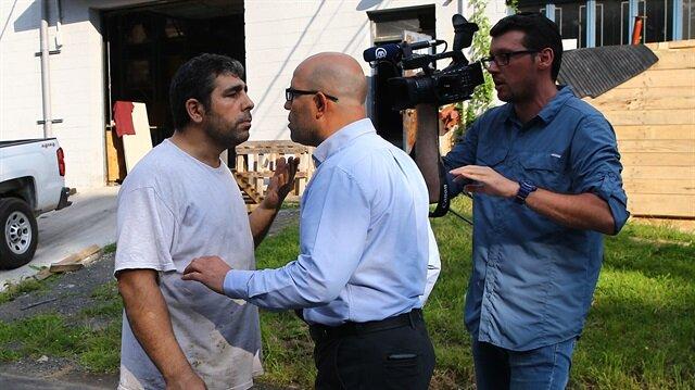 Kendisini işletmenin müdürü olarak tanıtan Mehmet isimli şahsın fiziki saldırısına uğradı.