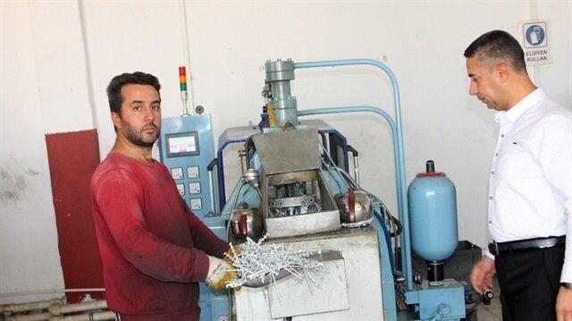 Tek makineyle başladı Türkiye'ye satıyor