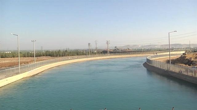 Sulama kanallarından hem su hem enerji fışkıracak