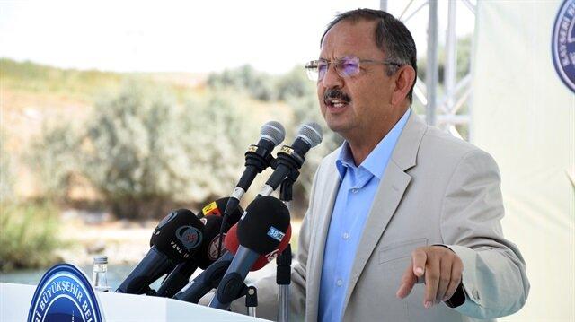 Çevre ve Şehircilik Bakanı Özhaseki:  Elimizdeki imkanları seferber ettiğimizde sıfır faizle finans desteği vereceğiz.