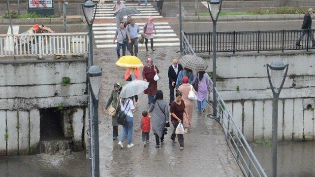 Meteorolojiden 18 ile yağış uyarısı