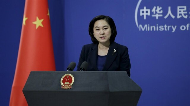 Hua Chunying, spokeswoman of China's Foreign Ministry