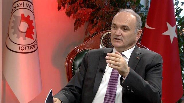 Sanayi Bakanı Faruk Özlü TVNET'e konuk oldu