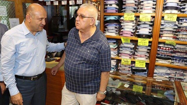 Başbakan Yardımcısı Fikri Işık Balıkesir'de