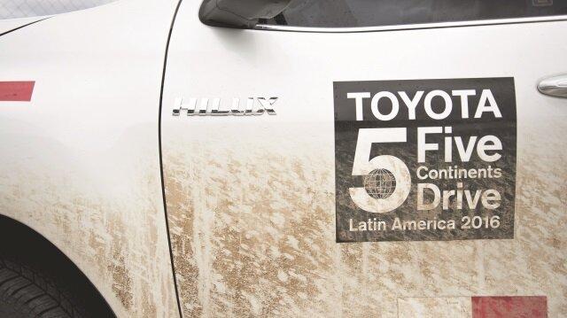 Toyota 5 kıtayı dolaşacak