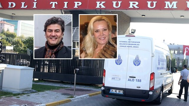 Vatan Şaşmaz ve Filiz Aker'in cenazesi adli tıpta