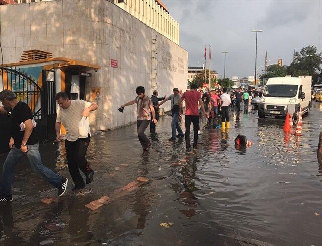 Meteorolojiden Sinop ve çevresine kuvvetli yağış uyarısı