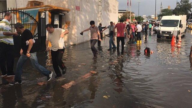İstanbul'da bugün kısa süreki yağmur etkili olmuştu