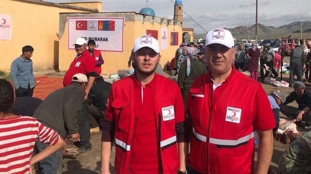 Türk Kızılayı ilk kez Moğolistan'da