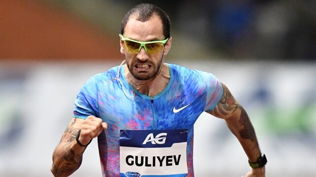 Ramil Guliyev 200 metrede üçüncü oldu