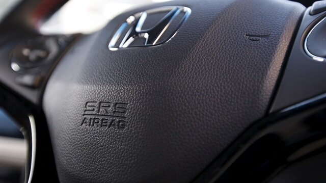 Takata firmasının ürettiği hava yastıkları nedeni ile otomotiv devi Honda, 605 milyon dolar ödemek zorunda kaldı.
