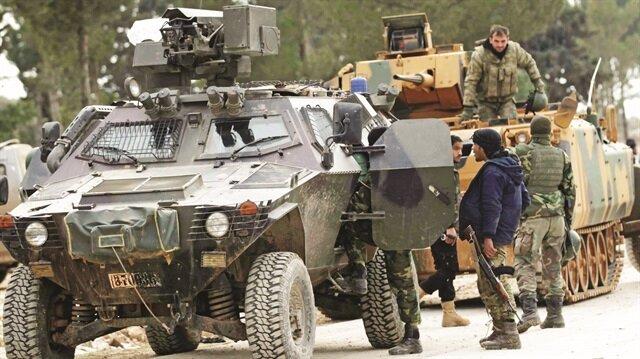 Fırat Kalkanı Yabancı arazide müşterek askeri harekât