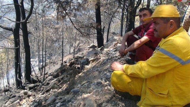 Muğla'daki yangın kontrol altına alındı! Muğla haberleri