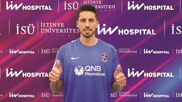 Milan forması giyen Arjantinli yıldız Sosa Trabzonspor'da.