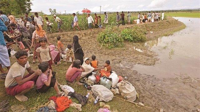 Yeni Şafak visits Rohingya refugee camp