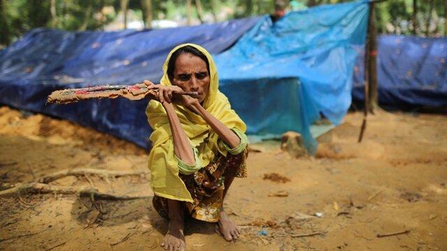 Hindistan'a giden Arakanlılar yaşam mücadelesi veriyor