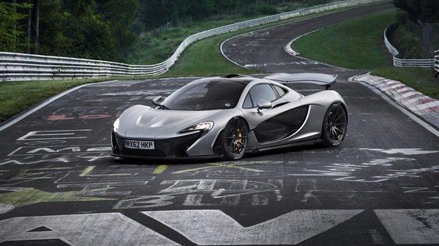 McLaren'in fuarda tanıtacağı 750 bin dolar değerindeki hiper otomobili.