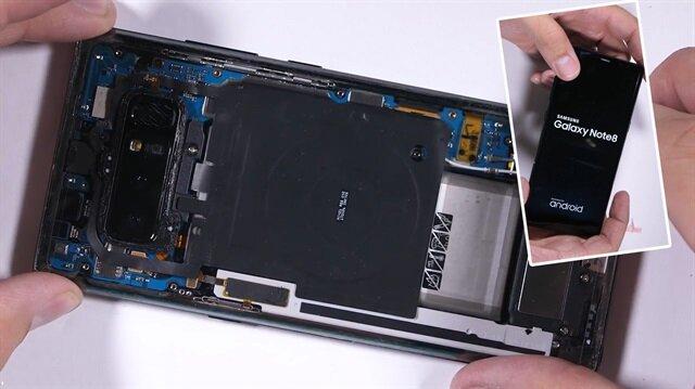 Galaxy Note 8i bu yöntemle şeffaflaştırdı