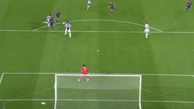 Messi'den Juventus'a müthiş gol