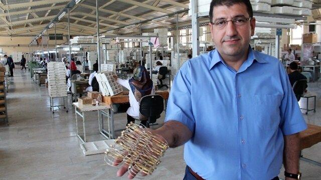 Babasının küçük dükkanından, 430 bin adet üretim yapan fabrikaya.