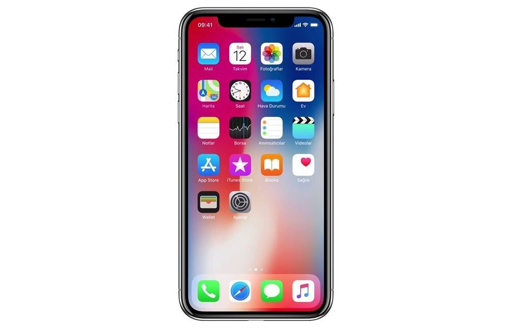 Apple'ın onuncu yıl kapsamında sahneye çıkardığı iPhone X!