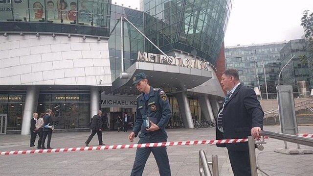 Son dakika Moskova'da bomba alarmı, AVM'ler kapatıldı